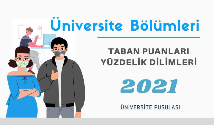 Biyoloji Öğretmenliği 2021 üniversite bölümleri taban puanları başarı sıralamaları